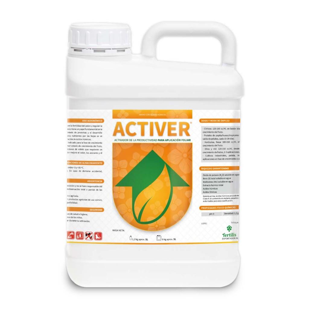 Estimulante de la productividad, con extractos orgánicos